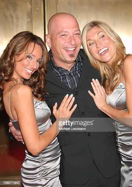 Patricia Kara Howie Mandel and Lindsay Clubine during NBC 20062007 Primetime Upfront at Radio City Music Hall in New York City New York United States