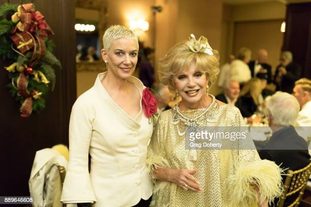 Patricia Kelly and Actress Ruta Lee attend The Thalians Hollywood for Mental Health Holiday Party 2017 at the Bel Air Country Club on December 09...