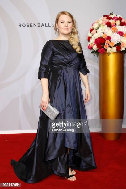 Patricia Kelly attends the Rosenball charity event at Hotel Intercontinental on May 5 2018 in Berlin Germany
