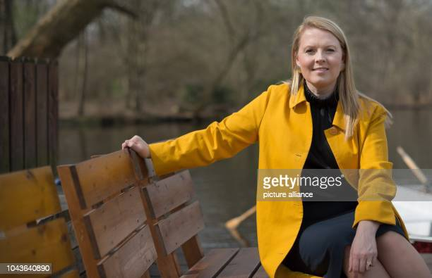 Patricia Kelly member of the band 'The Kelly Family' poses at an interview with German news agency Deutsche PresseAgentur in Berlin Germany 31 March...