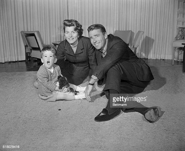 Patricia Kennedy daughter of US Ambassador to England Joseph Kennedy is married to actor Peter Lawford Here they are in their Los Angeles home with...