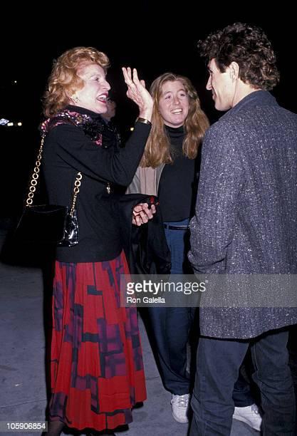 Patricia Kennedy Lawford and Robin Elizabeth Lawford and guest