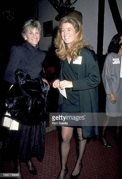 Patricia Kennedy Lawford and Robin Elizabeth Lawford