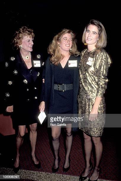 Patricia Kennedy Lawford Robin Elizabeth Lawford and Sydney Maleia Lawford