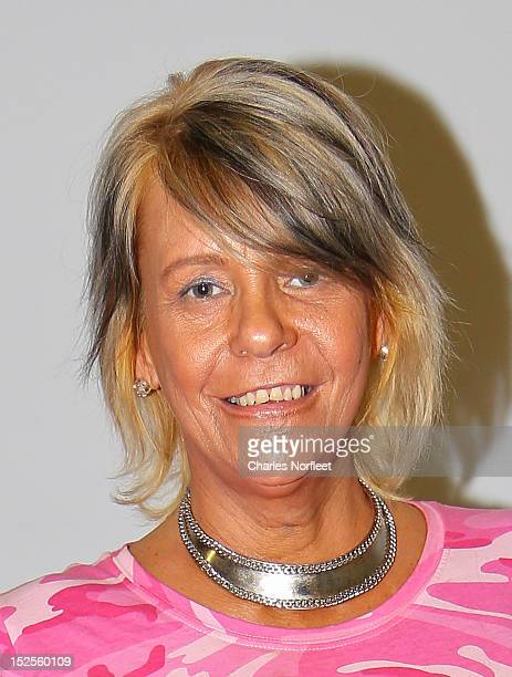 Patricia Krentcil attends Tan Mom Patricia Krentcil Skin Cancer Foundation Event at Westchester MMAFit on September 21 2012 in Mt Kisco New York
