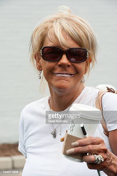 Patricia Krentcil leaving her home on May 9 2012 in Nutley New Jersey