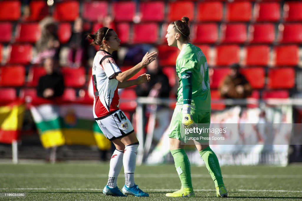 Women: Rayo Vallecano V EDF Logrono : News Photo