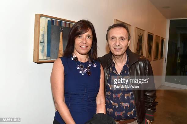 Patricia Maman and Daniel Maman attend the Marcelo Bonevardi / The Miami Rail Celebration at Miami Design District on December 8 2017 in Miami Florida