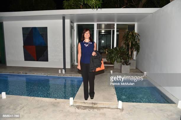 Patricia Maman attends the Marcelo Bonevardi / The Miami Rail Celebration at Miami Design District on December 8 2017 in Miami Florida