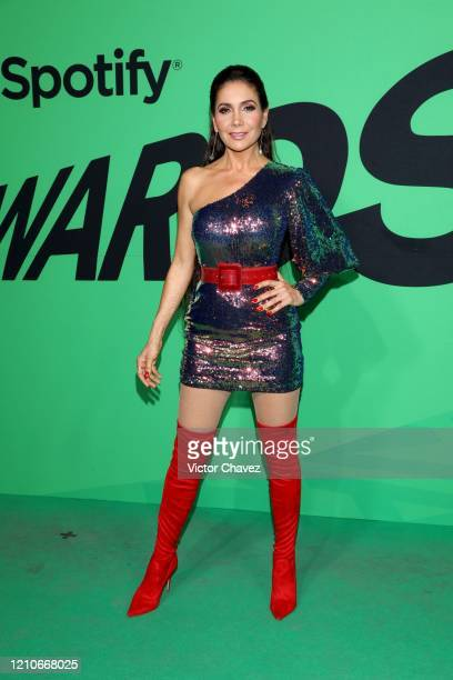 Patricia Manterola attends the 2020 Spotify Awards at the Auditorio Nacional on March 05 2020 in Mexico City Mexico