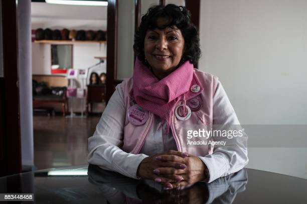 Patricia Marin Mesa poses for a photo in Bogota Colombia on November 29 2017 In May of 2016 Patricia Marin Mesa was diagnosed with an aggressive type...