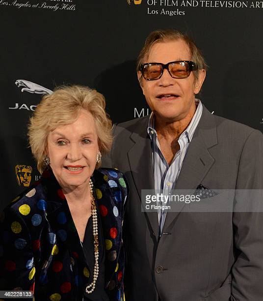 Patricia McCallum and Michael York arrive at the BAFTA LA 2014 Awards Season Tea Party at Four Seasons Hotel Los Angeles at Beverly Hills on January...
