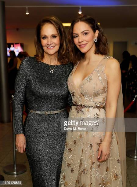 Patricia McPhee and Katharine McPhee attend the press night after party for 'Waitress The Musical' at Cafe At The Crypt St MartinintheFields on March...