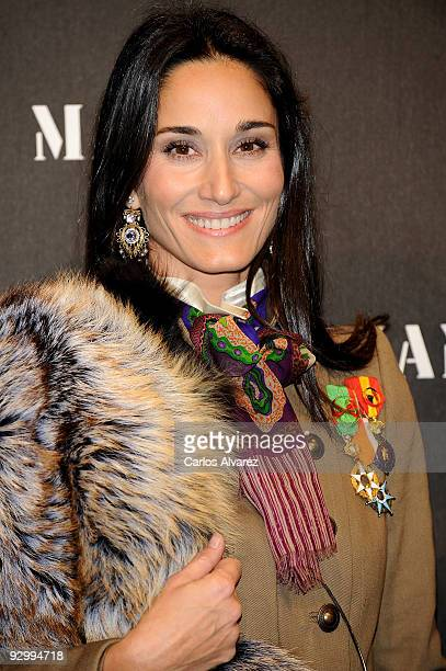 Patricia Medina Abascal attends Mango New Collection launch party at La Caja Magica on November 11 2009 in Madrid Spain