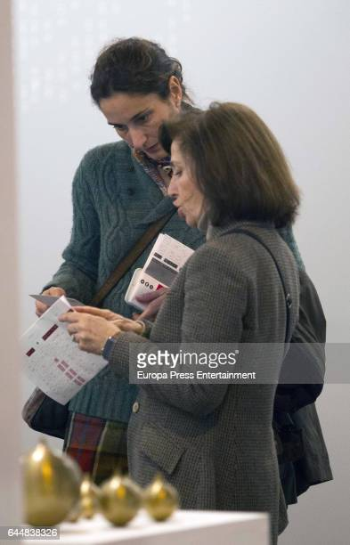 Patricia Medina Abascal attends the International Contemporary Art Fair ARCO 2017 at Ifema on February 23 2017 in Madrid Spain