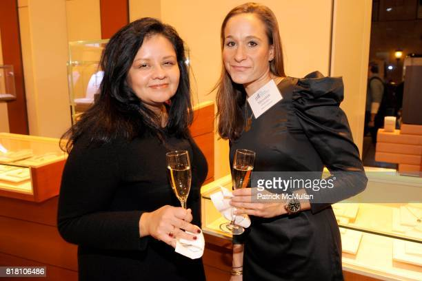 Patricia Meranda and Meredith Gonzalez attend The JACKSON LABORATORY Reception Featuring Kevin Mills PhD at BVLGARI on November 18 2010 in New York...