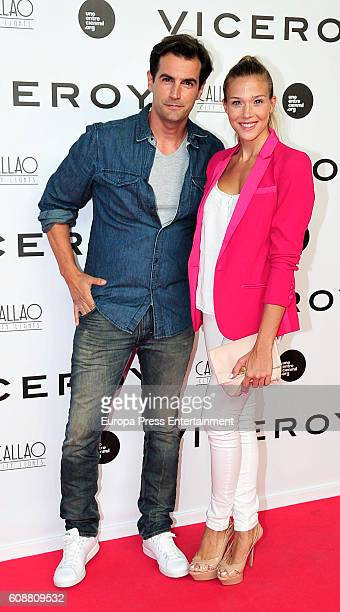 Patricia Montero and Alex Adrover attend the premiere of 'Soy Uno Entre Cien Mil' directed by Penelope Cruz at Callao cinema on September 19 2016 in...