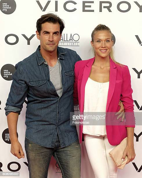 Patricia Montero and Alex Adrover attend the 'Soy Uno Entre Cien Mil' premiere at Callao cinema on September 19 2016 in Madrid Spain