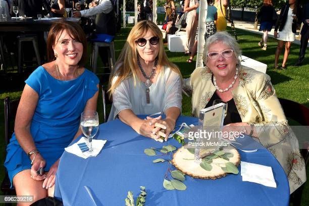 Patricia Murphy Louisa LucieSmith and Holly Hendrix attend the Four Freedoms Park Conservancy's Sunset Garden Party honoring Tom Brokaw at Four...