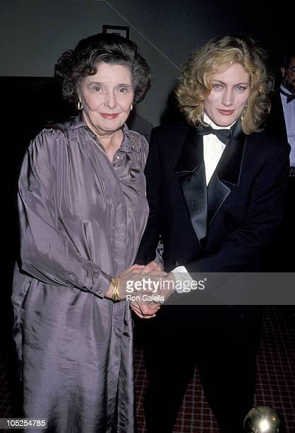 Patricia Neal and Geraldine James during Opening of Merchant of Venice at 46th Street Theater in New York City New York United States