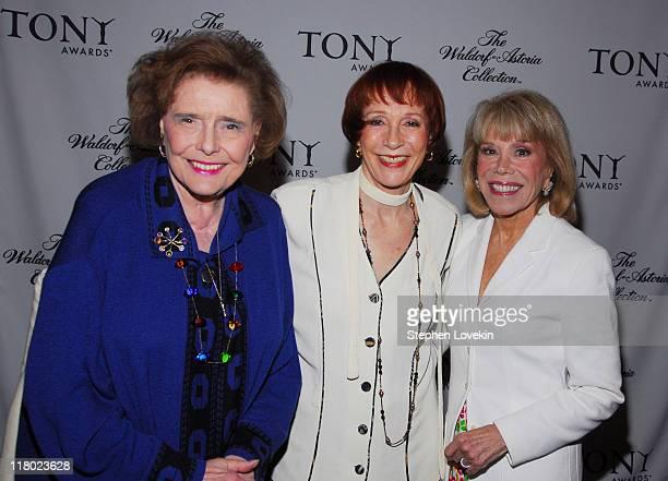 Patricia Neal Patricia Elliott and Sondra Gilman