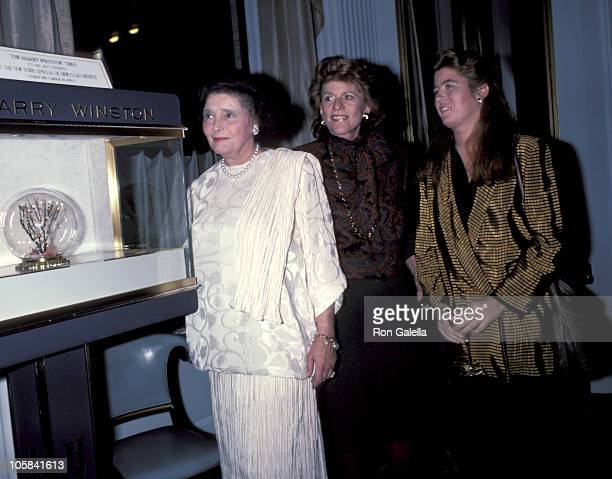 Patricia Neal with Patricia Kennedy Lawford and her daughter Robin Elizabeth Lawford