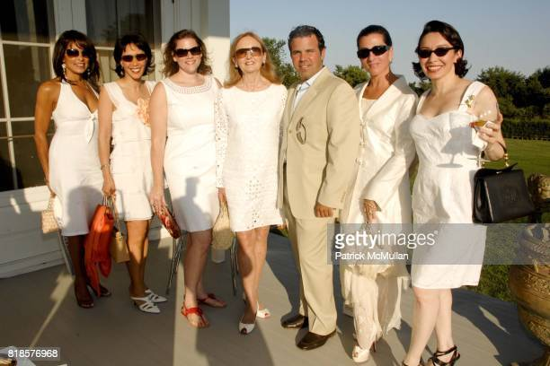 Patricia O'Connor Eileen Clifford Toby Boshak Eileen Gallagher Labiner Perry Cyprus Nina Yacavino and Gisela de San Roman attend Louis Vuitton with...