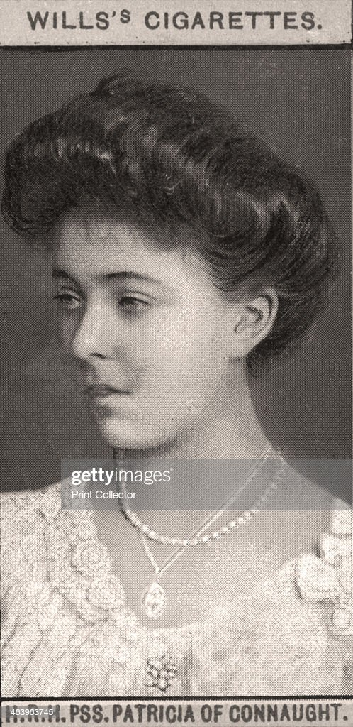 H.R.H, PSS. Patricia of Connaught, 1908.Artist: WD & HO Wills : News Photo