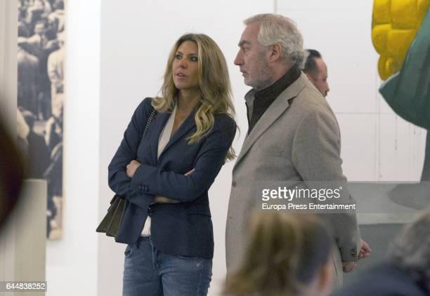 Patricia Olmedilla and Gonzalo de la Cierva attend the International Contemporary Art Fair ARCO 2017 at Ifema on February 23 2017 in Madrid Spain