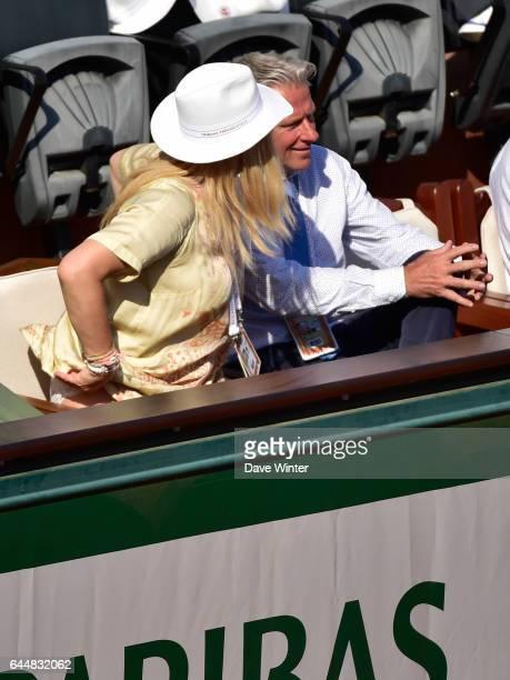 Patricia OSTFELDT / Byorn BORG Jour 13 Roland Garros 2015 Photo Dave Winter / Icon Sport