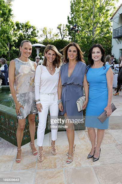 Patricia Penske Lori Loughlin Carla Du Manoir and Stacey Kohl attend the 2nd annual Wine Women and Shoes on May 22 2013 in Santa Monica California