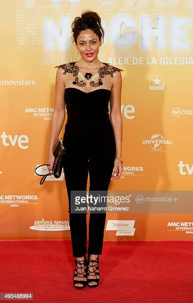 Patricia Perez attends 'Mi Gran Noche' premiere at Kinepolis Cinema on October 20 2015 in Madrid Spain
