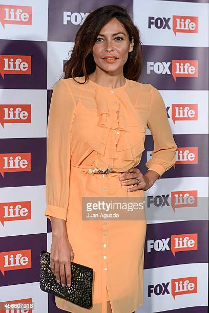 Patricia Perez attends the Fox Live new channel cocktail presentation at Pinar Club on October 7 2014 in Madrid Spain