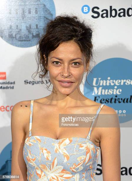 Patricia Perez attends the Rufus Wainwright Universal Music Festival concert at the Royal Theater on July 16 2016 in Madrid Spain