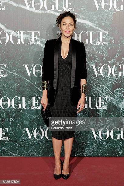 Patricia Perez attends the 'Vogue Joyas awards' photocall at Duques de Santona palace on November 24 2016 in Madrid Spain