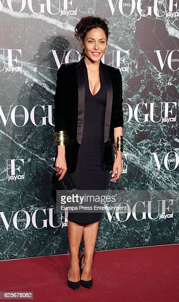Patricia Perez attends 'Vogue joyas' awards at Santona Palace on November 24 2016 in Madrid Spain