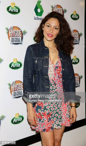 Patricia Perez presents the Tv program 'Los Hygge una pareja muy natural' on April 18 2017 in Madrid Spain