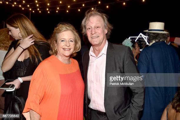 Patricia Phelps de Cisneros and Patrick McMullan attend Faena Forum Opening Night at Faena Hotel on December 4 2017 in Miami Beach Florida