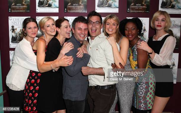 Patricia Potter Charlotte Parry Claire Forlani Trip Cullman Adam Bock Isabella Calthorpe Ronke Adekoluejo and Alice Sanders attend an after party...