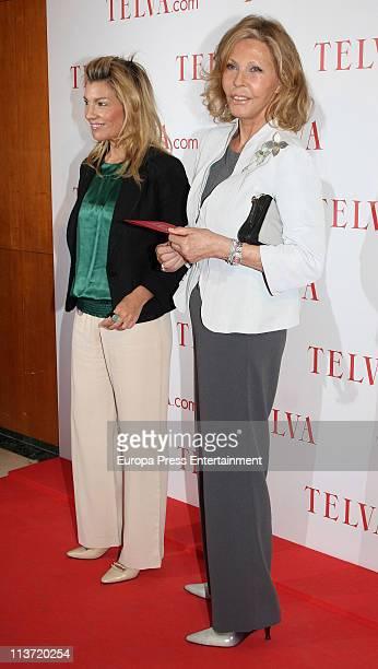 Patricia Rato and Ana Gamazo attend Telva Awards 2011 on May 4 2011 in Madrid Spain