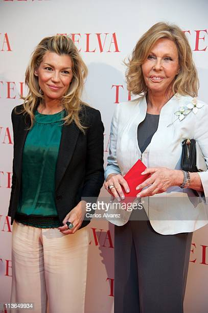Patricia Rato and Ana Gamazo attend 'Telva Solidarity Awards' 2011 at Hotel Eurobuilding on May 4 2011 in Madrid Spain
