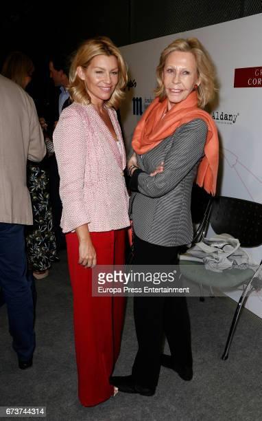 Patricia Rato and Ana Gamazo attend the 2017 TELVA Charity Awards at the Rafael del Pino Auditorium on April 26 2017 in Madrid Spain