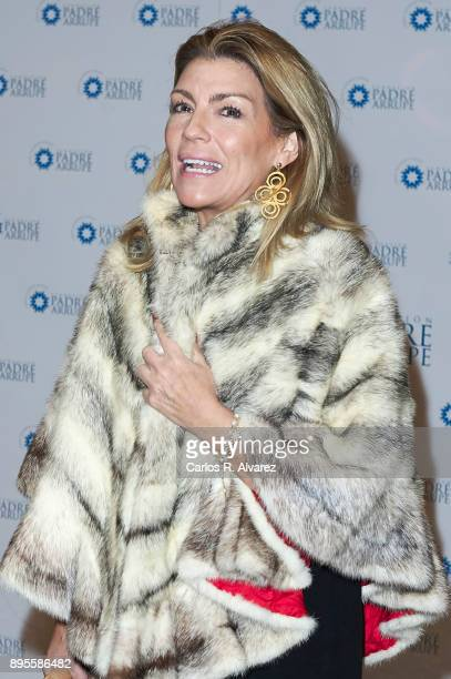 Patricia Rato attends the Padre Arrupe Foundation Christmas charity concert at the Auditorio Nacional on December 19 2017 in Madrid Spain