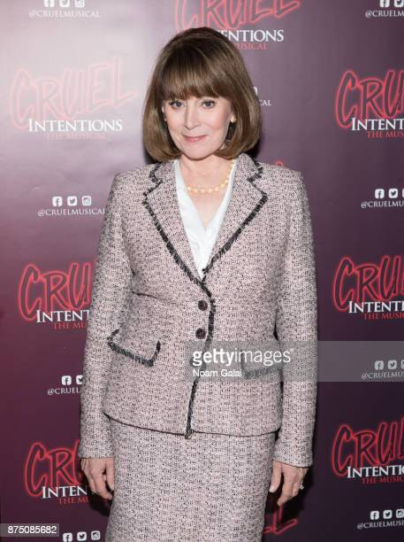Patricia Richardson attends the Cruel Intentions sneak peek event at Le Poisson Rouge on November 16 2017 in New York City