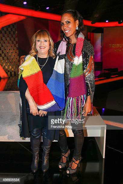 Patricia Riekel and Barbara Becker attend the Tribute To Bambi 2014 party on September 25 2014 in Berlin Germany