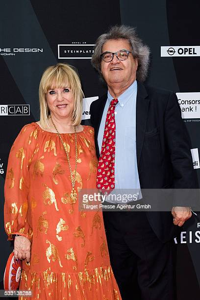 Patricia Riekel and Helmut Markwort during the Deutscher Schauspielerpreis on May 20 2016 in Berlin Germany