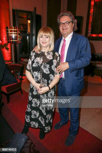 Patricia Riekel and Helmut Markwort during the Reemtsma Liberty Award 2018 on March 22 2018 in Berlin Germany