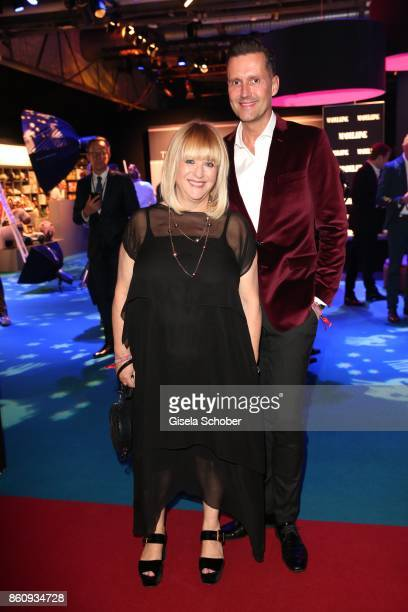 Patricia Riekel and Marco Stein during the 'Tribute To Bambi' gala at Station on October 5 2017 in Berlin Germany