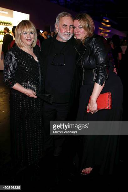 Patricia Riekel and Udo Walz attend Douglas at Duftstars Awards 2014 the Duftstars Awards 2014 at arena Berlin on May 15 2014 in Berlin Germany
