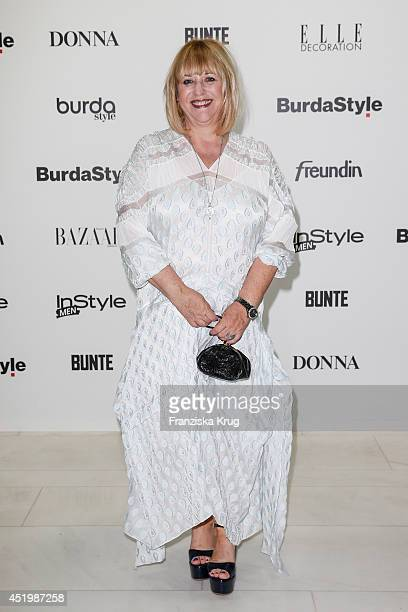 Patricia Riekel attends the Burda Style Cocktail on July 10 2014 in Berlin Germany